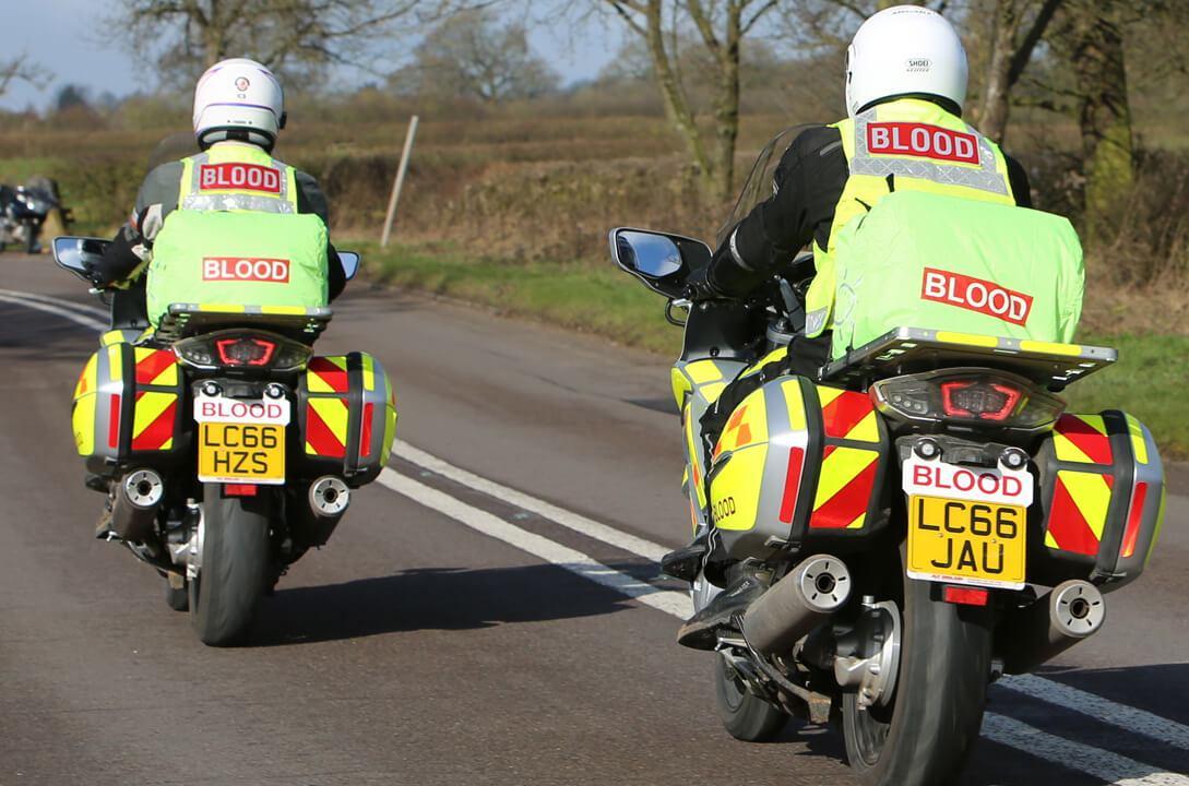 Shropshire Staffordshire Blood bikes